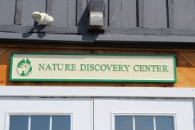 Nature Discovery Center sign in Warner, NH 5/3/2018